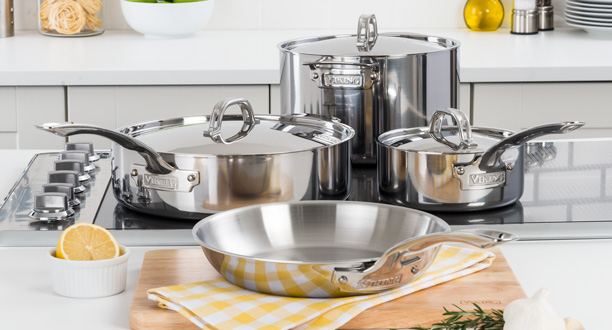 Viking 3-Ply Cookware 7 Piece Set