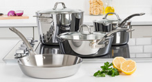 Viking Contemporary 3-Ply Cookware 7 Piece Set
