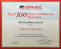 Clipper USPAACC Award