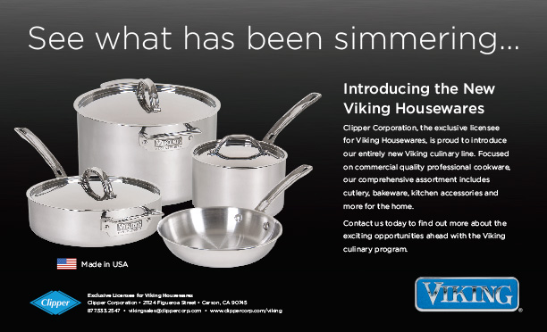 Clipper Corporation Launches Ad Campaign For Viking Culinary Line